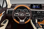 Car pictures of steering wheel view of a 2018 Lexus RX 350 5 Door SUV Steering Wheel