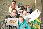 HUNTING FOR TREASURE: Students from IT Tralee are organising a Treasure Hunt on April Fools day in the North Campus. Pictured were: Margaret O'Connor, Linda Nilan, Michelle O'Connor, Lerato Molise, David Scott and Alan Greaney.