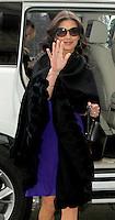 NEW YORK, NY - JANUARY 17: Catherine Zeta-Jones promoting Broken City in New York City. January 17, 2013. Credit: RW/MediaPunch Inc. /NortePhoto