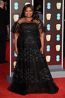 Octavia Spencer arriving for the BAFTA Film Awards 2018 at the Royal Albert Hall, London, UK. <br /> 18 February  2018<br /> Picture: Steve Vas/Featureflash/SilverHub 0208 004 5359 sales@silverhubmedia.com