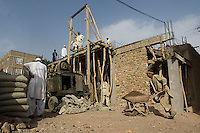 Building site in Herat, Afghanistan.