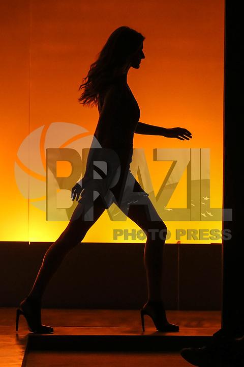 SAO PAULO, 31.10.2013 - SPFW /COLCCI - A top-model Gisele Bündchen durante desfile da grife Colcci durante a 36ª edição da São Paulo Fashion Week (SPFW), coleção Outono/Inverno 2014, no Parque Vila Lobos, na zona oeste da capital paulista, nesta quinta-feira,31. (Foto: William Volcov / Brazil Photo Press).