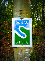 Oesterreich, Oberoesterreich, Wanderweg Donausteig | Austria, Upper Austria, hiking trail 'Donausteig' (Danube climbing track)