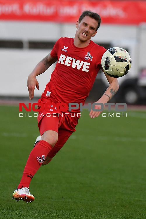 23.03.2017, BELKAWarena, Bergisch Gladbach , GER, FSP, Testspiel, SV Bergisch Gladbach 09 (MRL) vs. 1. FC K&ouml;ln ( 1.FBL) <br /> <br /> im Bild / picture shows: <br /> Simon Zoller (1. FC Koeln #11),Einzelaktion, Ganzk&ouml;rper / Ganzkoerper, Hochformat,<br /> <br /> <br /> <br /> Foto &copy; nordphoto / Meuter