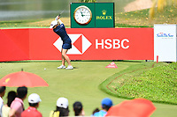 SINGAPORE - MARCH 02: Jodi Ewart Shadoff of England on the 17th tee during the third round of the HSBC Women's World Championship 2019 at Sentosa Golf Club - Tanjong Course, Singapore on March 02, 2019.<br /> .<br /> .<br /> .<br /> (Photo by: Naratip Golf Srisupab/SEALs Sports Images)<br /> .<br /> Any image use must include a mandatory credit line adjacent to the content which should read: Naratip Golf Srisupab/SEALs Sports Images