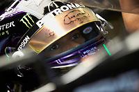 11th July 2020; Styria, Austria; FIA Formula One World Championship 2020, Grand Prix of Styria qualifying sessions;  44 Lewis Hamilton GBR, Mercedes-AMG Petronas Formula One Team