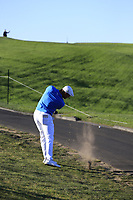 Bryson DeChambeau (USA) plays his 2nd shot on the 6th hole during Sunday's Final Round of the 2018 AT&amp;T Pebble Beach Pro-Am, held on Pebble Beach Golf Course, Monterey,  California, USA. 11th February 2018.<br /> Picture: Eoin Clarke | Golffile<br /> <br /> <br /> All photos usage must carry mandatory copyright credit (&copy; Golffile | Eoin Clarke)