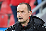 10.03.2018, BayArena, Leverkusen , GER, 1.FBL., Bayer 04 Leverkusen vs. Borussia Moenchengladbach<br /> im Bild / picture shows: <br /> Heiko Herrlich Trainer (Bayer Leverkusen),<br /> <br /> <br /> Foto © nordphoto / Meuter