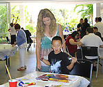 One Life To Live Susan Haskell donates time at SoapFest's Celebrity Weekend - Art for Autism when the actors & kids make paintings for auction to benefit Autism on November 10, 2012 Marco Island, Florida. For info www.autism-society.org or www.autismspeaks.org. (Photo by Sue Coflin/Max Photos)