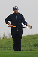 Dylan Lawson (AUS) on the 10th green during Round 4 of the Amundi Open de France 2019 at Le Golf National, Versailles, France 20/10/2019.<br /> Picture Thos Caffrey / Golffile.ie<br /> <br /> All photo usage must carry mandatory copyright credit (© Golffile | Thos Caffrey)
