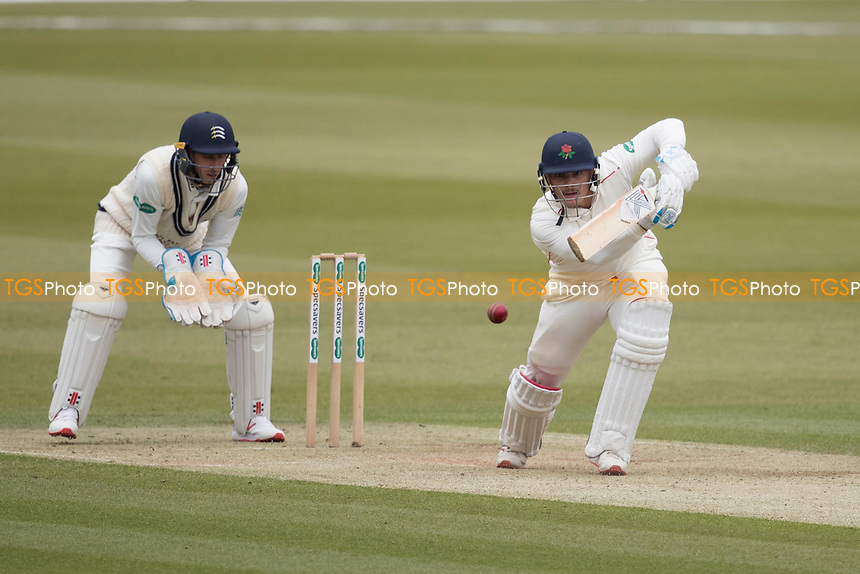 Rob Jones of Lancashire CCC pushes through extra for a single during Middlesex CCC vs Lancashire CCC, Specsavers County Championship Division 2 Cricket at Lord's Cricket Ground on 12th April 2019