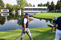 Phil Mickelson (USA) gives a thumbs up to the cheering crowd as he approaches 17 during round 4 of the World Golf Championships, Mexico, Club De Golf Chapultepec, Mexico City, Mexico. 3/5/2017.<br /> Picture: Golffile | Ken Murray<br /> <br /> <br /> All photo usage must carry mandatory copyright credit (&copy; Golffile | Ken Murray)