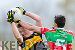 Johnny Buckley Dr Crokes in Action against John Ryan Loughmore-Castleiney in the Munster Senior Club Semi-Final at Crokes Ground, Lewis Road on Sunday