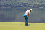 Seung-yul Noh putts on the 4th green during the Final Day of the 3 Irish Open at the Killarney Golf & Fishing Club, 1st August 2010..(Picture Eoin Clarke/www.golffile.ie)