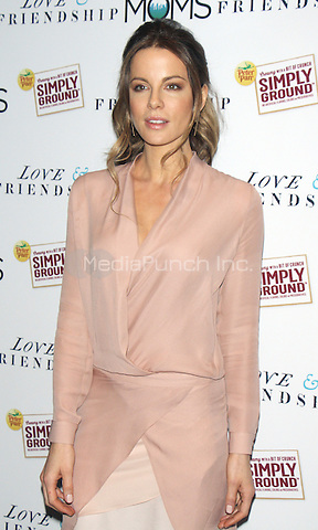 NEW YORK, NY-May 12: Kate Beckinsale  at the screening of amazonstudios & Another Roadside Attraction presents Love and Friendship hosted by The Moms and Peter Pan Peanut Butter  at the Park Avenue Screening Room in New York. NY May 12, 2016. Credit:RW/MediaPunch