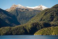 Doubtful Sound, Fiordland National Park, Southland, World Heritage Area, New Zealand