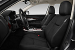Front seat view of 2016 Infiniti Q70 Premium 4 Door Sedan Front Seat  car photos