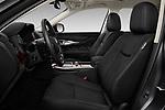 Front seat view of 2016 Infiniti Q70 Premium 4 Door Sedan Front Seat  car photos