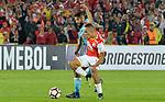 Independiente Santa Fe venció como local 3-0 a Sporting Cristal. Fecha 2 fase de grupos de la Conmebol Libertadores.