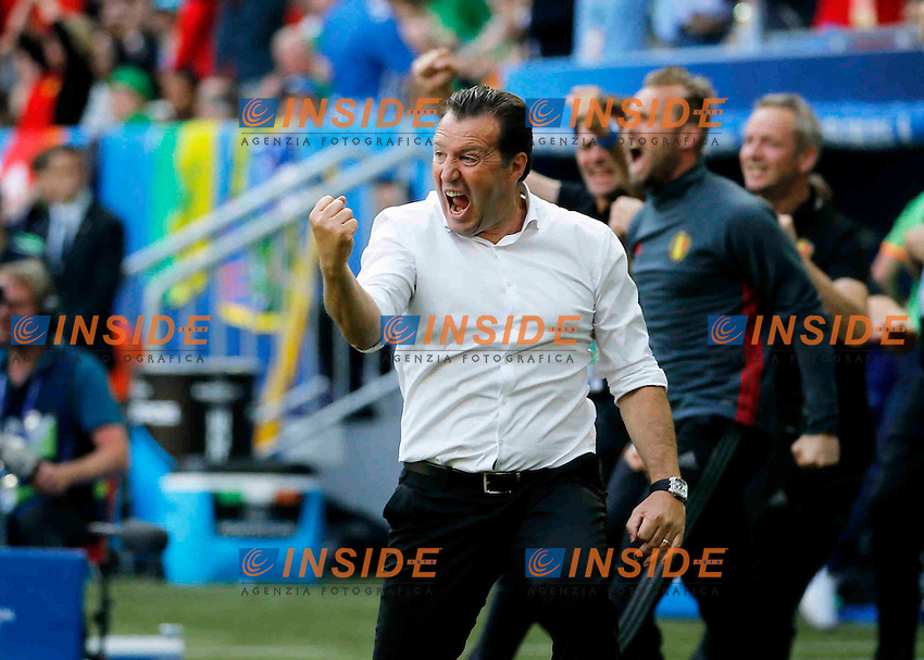 Wilmots Marc head coach <br /> Bordeaux 18-06-2016 Stade de Bordeaux Football Euro2016 Belgium - Ireland / Belgio - Irlanda Group Stage Group E. Foto Jimmy Bolcina / Photonews / Panoramic / Insidefoto