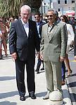 08.08.2014., Baska Voda, Croatia - President of Croatia Ivo Josipovic and prince Waleed bin Talal bin Abdul-Aziz Al Saud met on a lunch.<br /> <br /> Foto &copy;  nph / PIXSELL / Ivo Cagalj