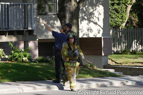 fireman responding to a call