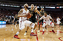 February 23, 2014: Terran Petteway (5) of the Nebraska Cornhuskers shoots a lay up against Kendall Stephens (21) of the Purdue Boilermakers during the second half at the Pinnacle Bank Arena, Lincoln, NE. Nebraska 76 Purdue 57.
