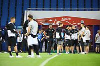 Bundestrainer Joachim Loew (Deutschland Germany) und die Mannschaft im Fisht Stadium - 18.06.2017: Pressekonferenz Deutschland, Fisht Stadium Sotschi