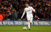 Pictured: Pablo Hernandez. Sunday 24 February 2013<br /> Re: Capital One Cup football final, Swansea v Bradford at the Wembley Stadium in London.