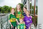 At the Launch of the  Kerry GAA & Horans Health Store  sponsorship event at the rose hotel on Monday l-r  Sarah Moriarty, Aoife Donegan, Aine Donegan, Norma Moriarty and Jason Moriarty.