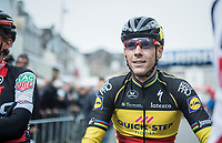 Belgian Champion & tripple Amstel winner Philippe Gilbert (BEL/Quick Step floors) relaxed at the start of the race in Maastricht<br /> <br /> 52nd Amstel Gold Race (1.UWT)<br /> 1 Day Race: Maastricht › Berg en Terblijt (264km)