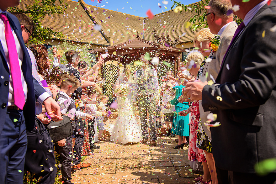 It's raining confetti at the Bicester Hotel Golf and Spa