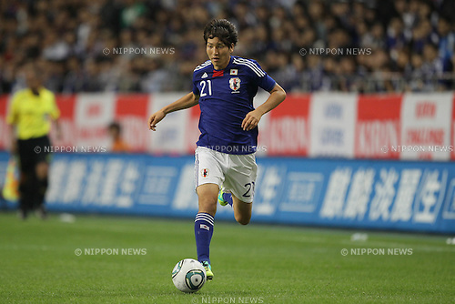 Genki Haraguchi (JPN), OCTOBER 7, 2011 - Football / Soccer : KIRIN Challenge Cup 2011 mach between Japan 1-0 Vietnam at Home's Stadium Kobe in Hyogo, Japan. (Photo by Akihiro Sugimoto/AFLO SPORT) [1080]