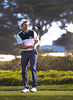 160211 Country singer Joe Don Rooney during Thursday's First Round at The AT&T National Pro Am at The Monterey Peninsula CC in Carmel, California. (photo credit : kenneth e. dennis/kendennisphoto.com)
