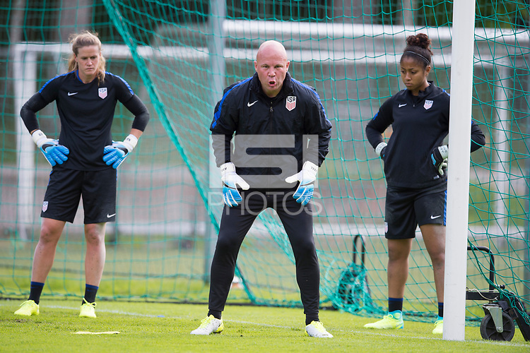 Gothenberg, SWE - June 6, 2017: The USWNT trains in Gothenburg before friendlies against Sweden and Norway in Scandinavia.