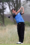 Lawrence Allan (SCO) on the 4th on the Final day at the 2012 Boys Home Internationals at Co.Louth Golf Club in Baltray, Co.Louth...(Photo credit should read Jenny Matthews/NEWSFILE)...