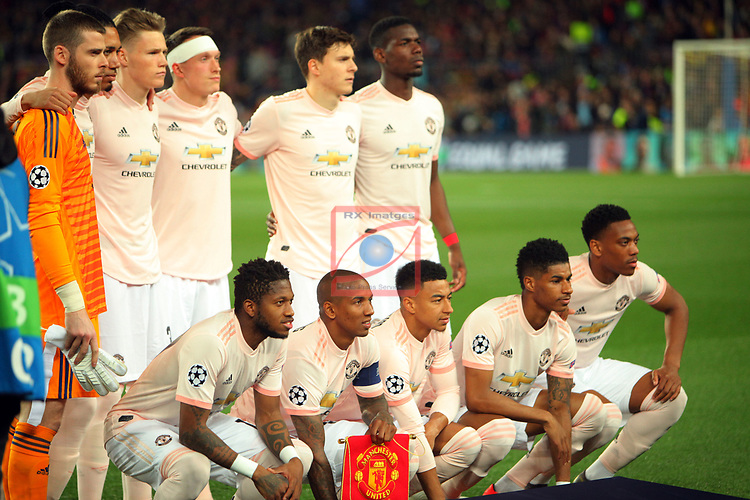 UEFA Champions League 2018/2019.<br /> Quarter-finals 2nd leg.<br /> FC Barcelona vs Manchester United: 3-0.