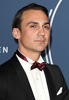 Henry Lloyd Hughes at the IWC Schaffhausen Gala Dinner in honour of the BFI at the Electric Light Station, Shoreditch, London on October 9th 2018<br /> CAP/ROS<br /> ©ROS/Capital Pictures