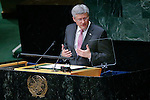 NEWS-Prime Minister of Canada Stephen Harper attends the U.N. General Assembly