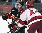 Mike Ambrosia (Princeton - 12) - The Harvard University Crimson defeated the Princeton University Tigers 3-2 on Friday, January 31, 2014, at the Bright-Landry Hockey Center in Cambridge, Massachusetts.