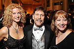 From left: Rhonda Beran with Johnny and Cathy Sessums at the Opportunity Ball benefitting Houston Community Collefe at the InterContinental Houston Friday Jan.  08,2010.(Dave Rossman/For the Chronicle)