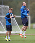 Lewis Macleod and Kris Boyd