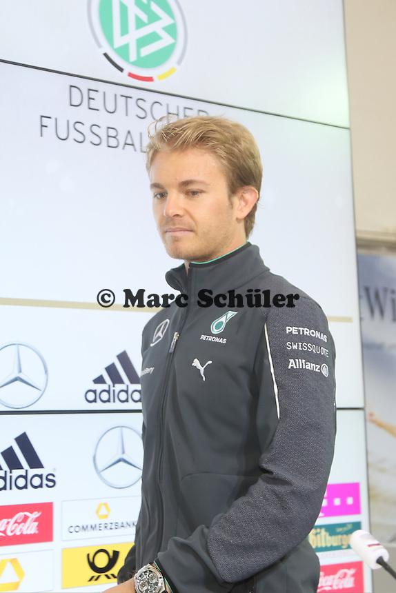 Nico Roßberg - Pressekonferenz der Deutschen Nationalmannschaft  zur WM-Vorbereitung in St. Martin