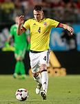 Colombia's Santiago Arias during international friendly match. June 7,2017.(ALTERPHOTOS/Acero)