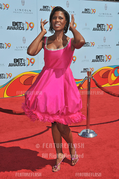 Omarosa at the 2009 BET Awards (Black Entertainment Television) at the Shrine Auditorium..June 28, 2009  Los Angeles, CA.Picture: Paul Smith / Featureflash