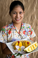 Food in Puerta Galera means either one of two things: seafood fresh from the sea, or locally grown tropical fruits that grow in abundance in the area's tropical climate.