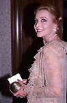 Anne Jeffreys attends a benefit on  September 1, 1985 in New York City.