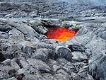 Lava skylight in Hawaii Volcanoes National Park