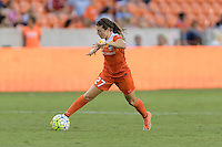 Houston, TX - Thursday Aug. 18, 2016: Caity Heap during a regular season National Women's Soccer League (NWSL) match between the Houston Dash and the Washington Spirit at BBVA Compass Stadium.