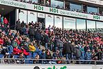 10.03.2018, HDI Arena, Hannover, GER, 1.FBL, Hannover 96 vs FC Augsburg<br /> <br /> im Bild<br /> nach dem 1:3 Tor verlassen viele Fans die Trib&uuml;ne Richtung Ausgang, <br /> <br /> Foto &copy; nordphoto / Ewert